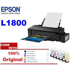 Apps introduced the most affordable printer compared to the first quality. Epson L1800 A3 Photo 6 Colour Ink Tank Printer Shopee Malaysia