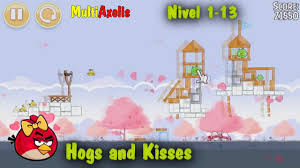 Angry Birds Seasons Hogs and Kisses Nivel 1 Parte 2 (ALEX) - YouTube