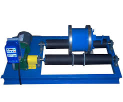 regring laboratory ball mill on rollers