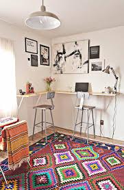 diy standing corner wall mounted desk