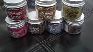 Tim Holtz Distress Glitter Choose From List Of Colors See Color Chart In Photos