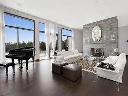 dark brown hardwood floors. Interesting Dark Impressive Grey Walls And Dark Hardwood Floors Brown  Inside Living Room Ordinary On A