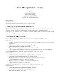 Product Manager Resume Product Manager Resume Produce Manager Resume