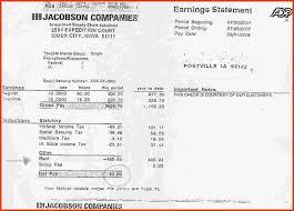 Pay Stub Maker Free Online Resume Samples