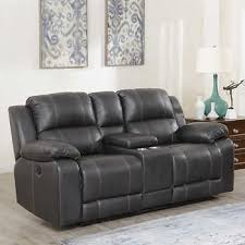 Brown leather sofa sets Dark Wood Floor Dunhill Leather Power Reclining Loveseat With Console Costco Wholesale Leather Sofas Sectionals Costco