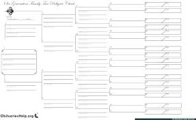 Free Downloadable Family Tree Charts Family Tree Maker Templates Free Make Your Own Pedigree
