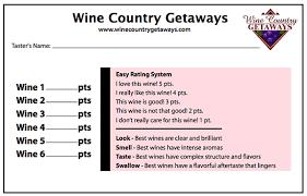 wine rating sheet wine scoring sheets wine tasting forms wine scorecards wine