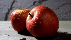 Two red Apple fruits HD wallpaper ...