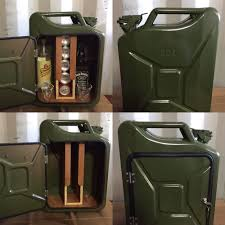 Upcycled Jerry Can Mini Bar Picnic Camping Recycled New