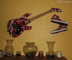 instrument guitar hanger on wall