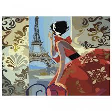 <b>Остров</b> Сокровищ <b>Картина по номерам</b> Париж с акриловыми ...