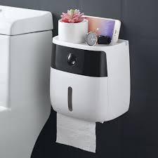 waterproof wall mount toilet paper