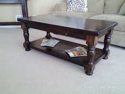 Furniture:Brilliant Square Homemade Wooden Coffee Tables Plus Center  Fireplace Also Glass Top Classic Dark