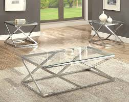 coffee tables end american freight piece table set under chase chrome glass set