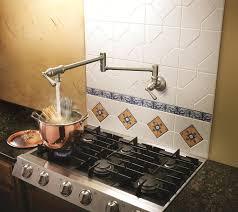 Kitchen Pot Filler Faucets Moen S664 Pot Filler Two Handle Kitchen Faucet Chrome Pot