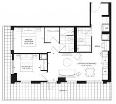 Master Bedroom Suite Layout Eastons Group Gets Innovative With Suite Layouts At Dundas Square