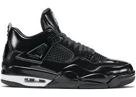 jordan shoes retro 4. jordan 4 retro 11lab4 black shoes