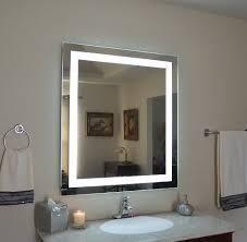 lighted vanity mirror wall mount. Amazon.com: Wall Mounted Lighted Vanity Mirror LED MAM83636 Commercial Grade 36\ Mount L