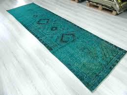 dark teal runner rug soft thick hall rugs new long short wide narrow