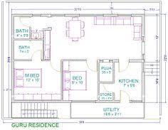Looking for superior X North Facing House Plans in India    Pool house  bedroom house plans   plans for east facing plot vastu plan seris c vastu plan east
