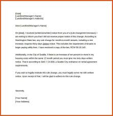 how to write a rent increase notice rental increase letter general resumes