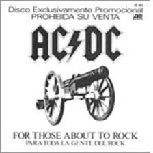 For <b>Those</b> About to Rock (We Salute You) - Wikipedia