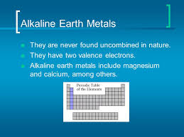 Alkaline Earth Metals React With Water images