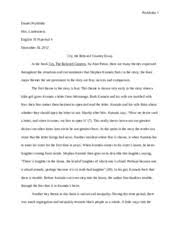 cry the beloved country documents course hero cry the beloved country essay