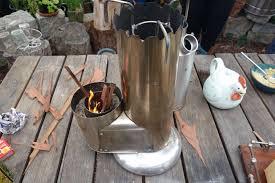 bike size camping rocket stove sm