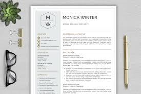 Modern Creative Resume Template 035 Free Download Creative Cv Template Word Indonesia Resume