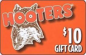 2016 hooters gift card hootie of america