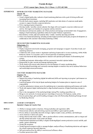 Country Marketing Manager Resume Samples | Velvet Jobs