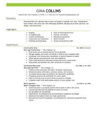 Crew Member Resume Resume For Study