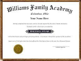 high school diploma name home school diplomas