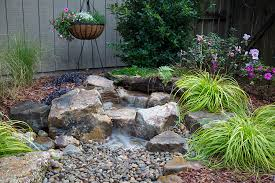 the revolutionary backyard waterfall landscape fountain kit makes installation of decorative waterfalls quicker and