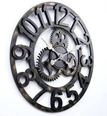 top big wall clock designs big wall clocks 2 large skeleton wall clocks uk