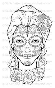 Small Picture Adult coloring book Day of the Dead Dia de los Muertos coloring