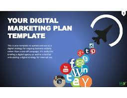 Marketing Plan Powerpoints Digital Marketing Plan 2019 Powerpoint