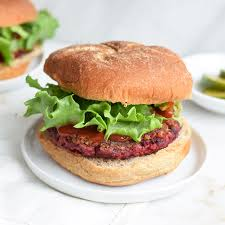 homemade impossible burger