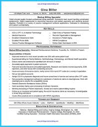 accounts receivables resumes medical billing specialist resume and medical billing accounts