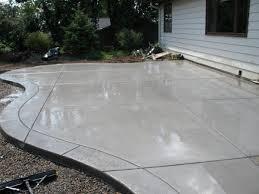 concrete slab patio. Concrete Patio With Stamped Border Slab N