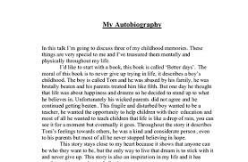 writing my autobiography essay titles writing my autobiography essay titles use starting