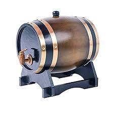 storage oak wine barrels. 5L Oak Barrel Wooden For Storage Or Aging Wine \u0026 Spirits Barrels Holder U