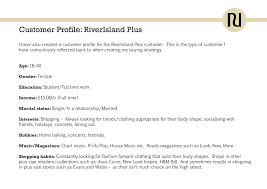 River Island Plus Size Chart Final Major Project Through My Eyes April 2012