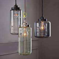 blown glass lighting. country blown glass jar pendant lighting 8083 l