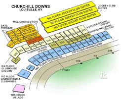 Churchill Downs Seating Chart Rows Churchill Downs Seating Chart Faithful Church Hill Downs