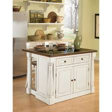 Granite Top Kitchen August Grove Shyanne Kitchen Island Set With Granite Top Reviews