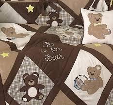 teddy bear crib sheet teddy bear chocolate 9 piece crib bedding collection pokkadots com