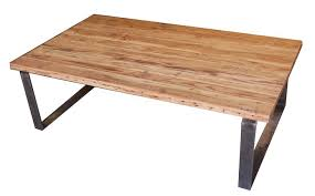 Coffee Table Industrial Industrial Modern Metal And Reclamed Wood Coffee Table Mortise