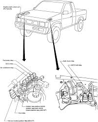 1997 nissan truck engine diagram images gallery